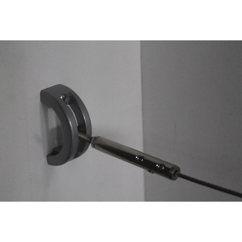 Câble inox 25m diam 3mm en bobine | Leroy Merlin