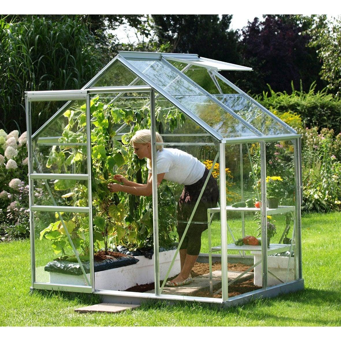 Serre egt venus 2500 verre horticole m leroy merlin - Serre jardin leroy merlin ...
