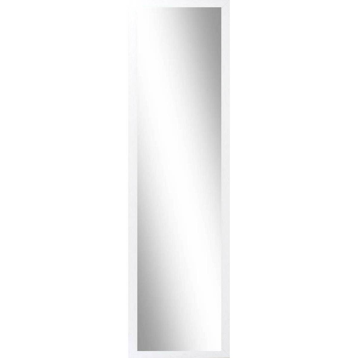Miroir riviera inspire blanc x cm leroy merlin for Miroir rectangulaire 120 cm