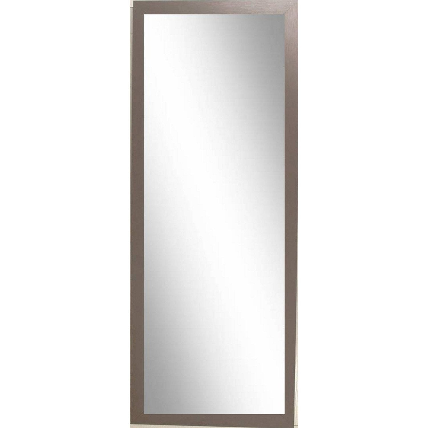 miroir riviera 2 inspire brun taupe n 3 30x120 cm leroy merlin. Black Bedroom Furniture Sets. Home Design Ideas