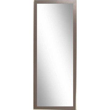 miroir riviera 2 inspire brun taupe n 3 30x120 cm leroy merlin. Black Bedroom Furniture Sets. Home Design Ideas