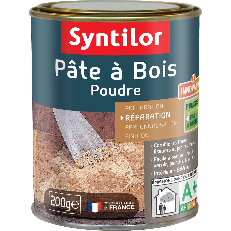 Produit Pour Traiter Le Bois - P u00e2teà bois SYNTILOR, naturel, 200 g Leroy Merlin