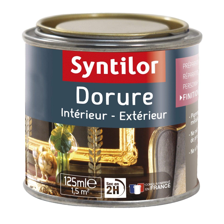 dorure paillet syntilor or riche l leroy merlin. Black Bedroom Furniture Sets. Home Design Ideas