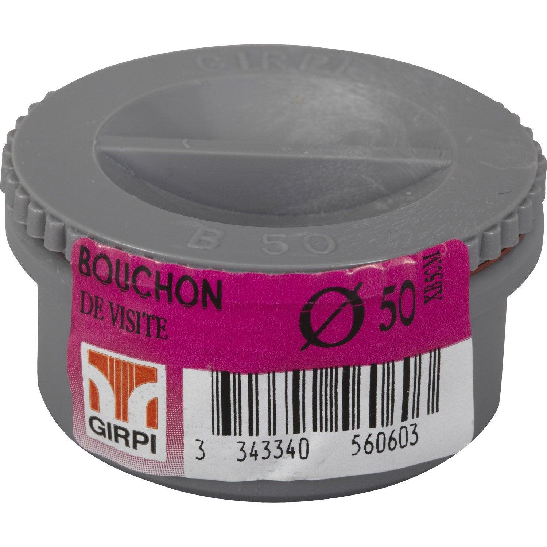 Bouchon coller en pvc m le d50 leroy merlin - Bouchon pour tuyau d eau ...