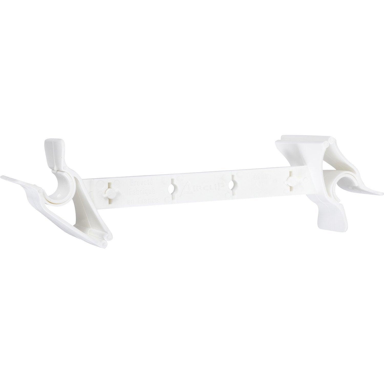 entrebâilleur de fenêtre plastique blanc socona airclips