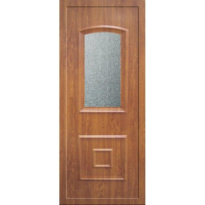 Porte d 39 entr e sur mesure en pvc capella artens leroy merlin - Porte d entree sur mesure en ligne ...