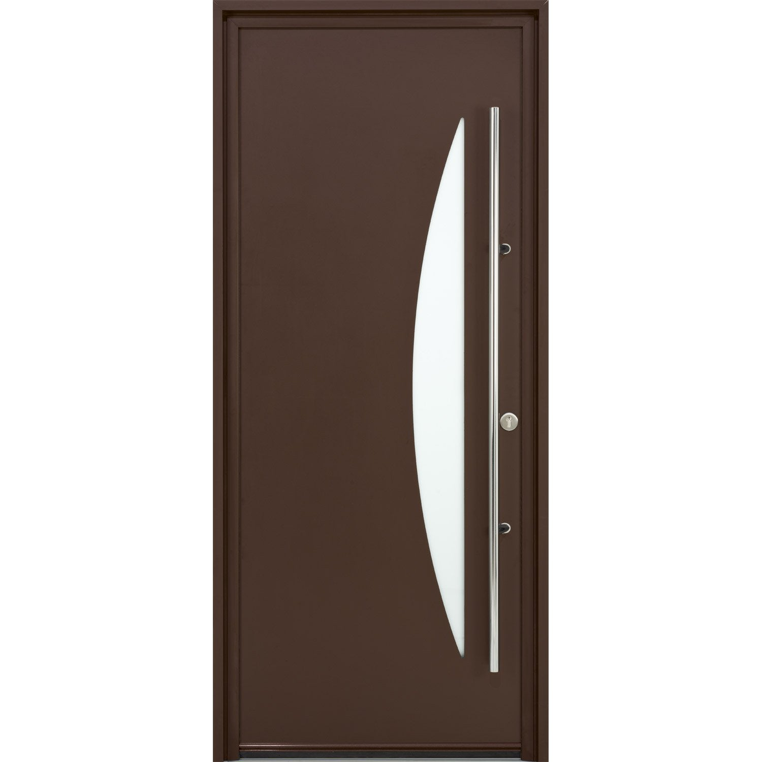 Porte d 39 entr e sur mesure en aluminium imperia excellence for Leroy merlin porte garage sur mesure
