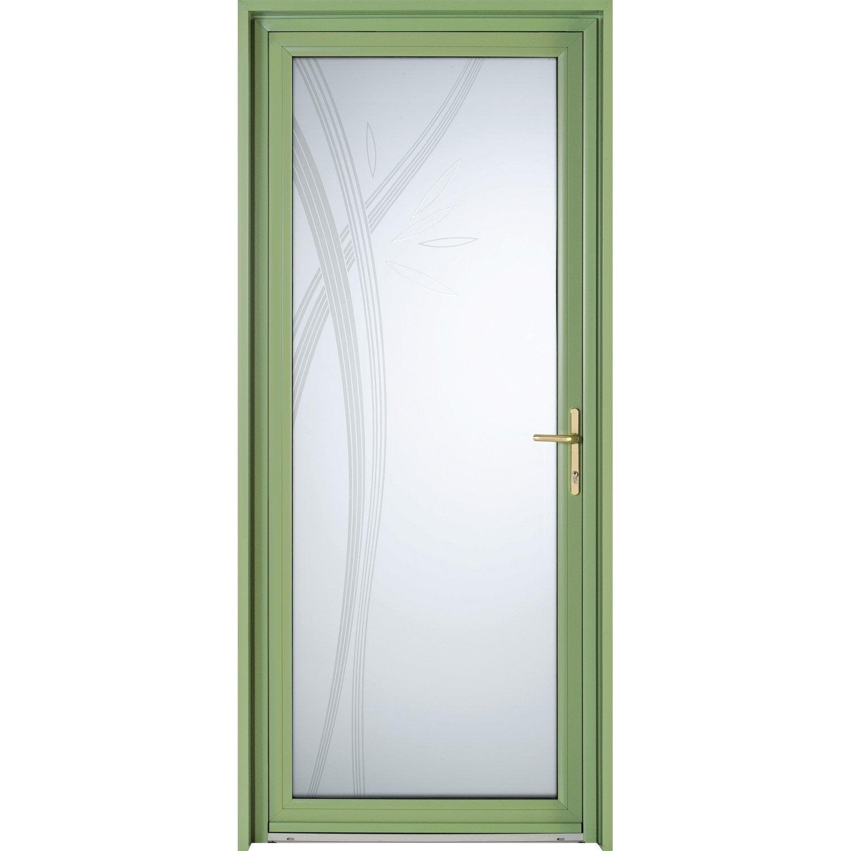 Porte d 39 entr e sur mesure en aluminium hysope excellence - Portes d entree leroy merlin ...