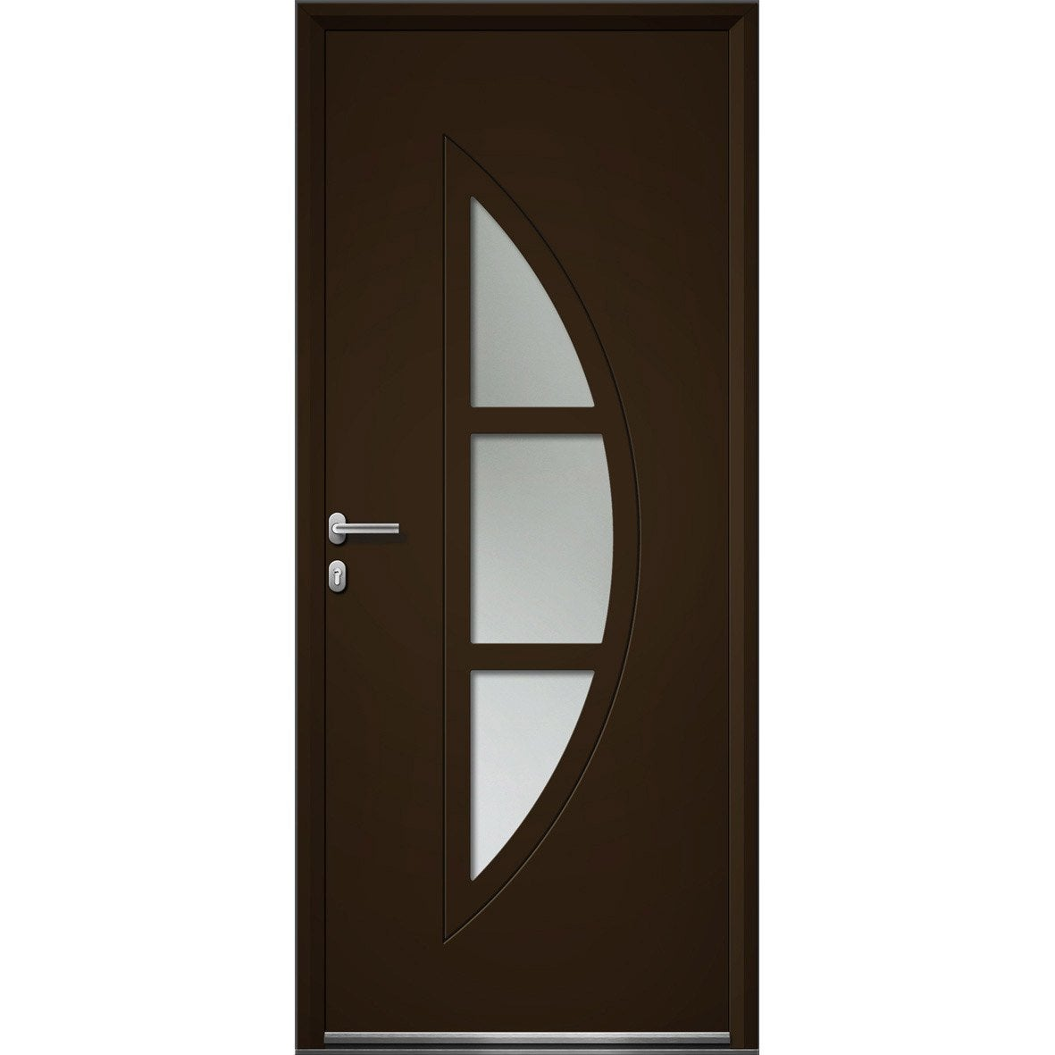 Porte service sur mesure id es de for Decoration porte aluminium