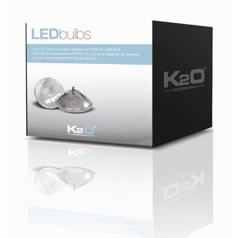 lampe halog ne pour piscine enterr e blanc froid 300 w. Black Bedroom Furniture Sets. Home Design Ideas