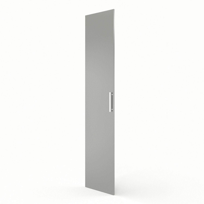 Porte colonne de cuisine gris d lice x cm - Colonne cuisine 40 cm ...