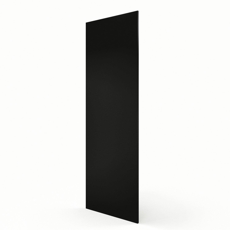 Joue colonne de cuisine noir d lice l65 x h200 cm leroy merlin - Colonne leroy merlin ...