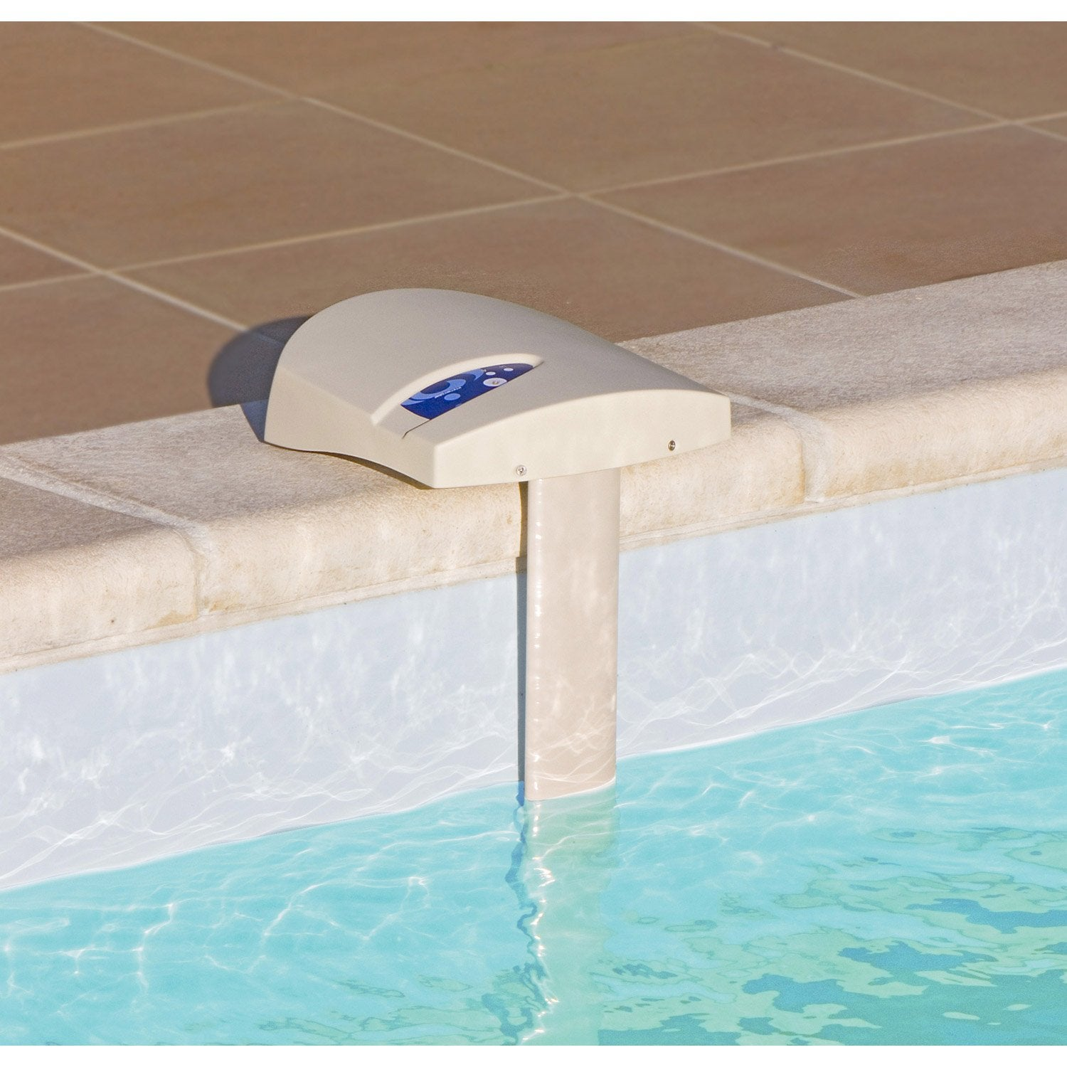Kit alarme pour piscine enterr e a immersion visiopool 20m2 leroy merlin - Bache piscine rectangulaire leroy merlin ...