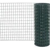 Grillage soudé vert H.1.5 x L.20 m, maille de H.75 x l.50 mm