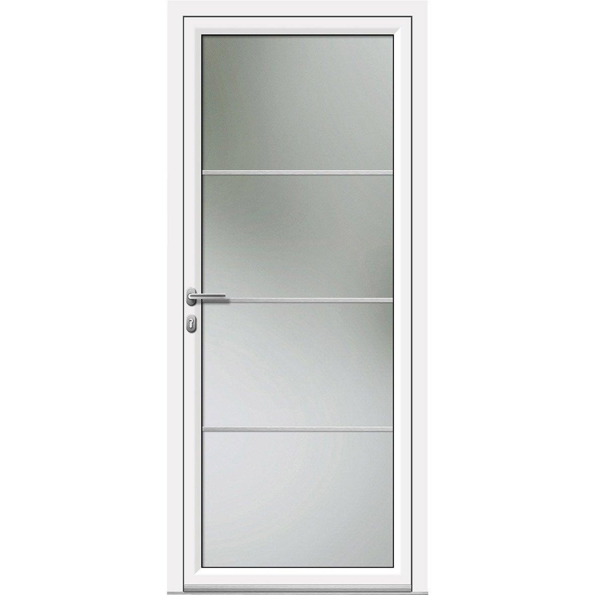 Porte D Entree Aluminium Castorama Maison Design Bahbecom - Porte d entrée vitrée pas cher