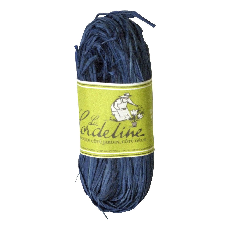 Rafia bleu marine la cordeline leroy merlin for Peinture bleu marine leroy merlin