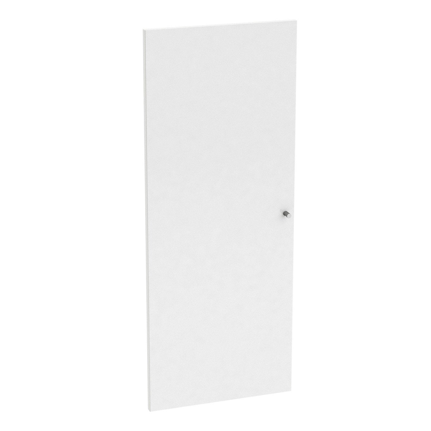Porte battante spaceo home 100 x 40 x 1 6 cm blanc for Miroir 100 x 40