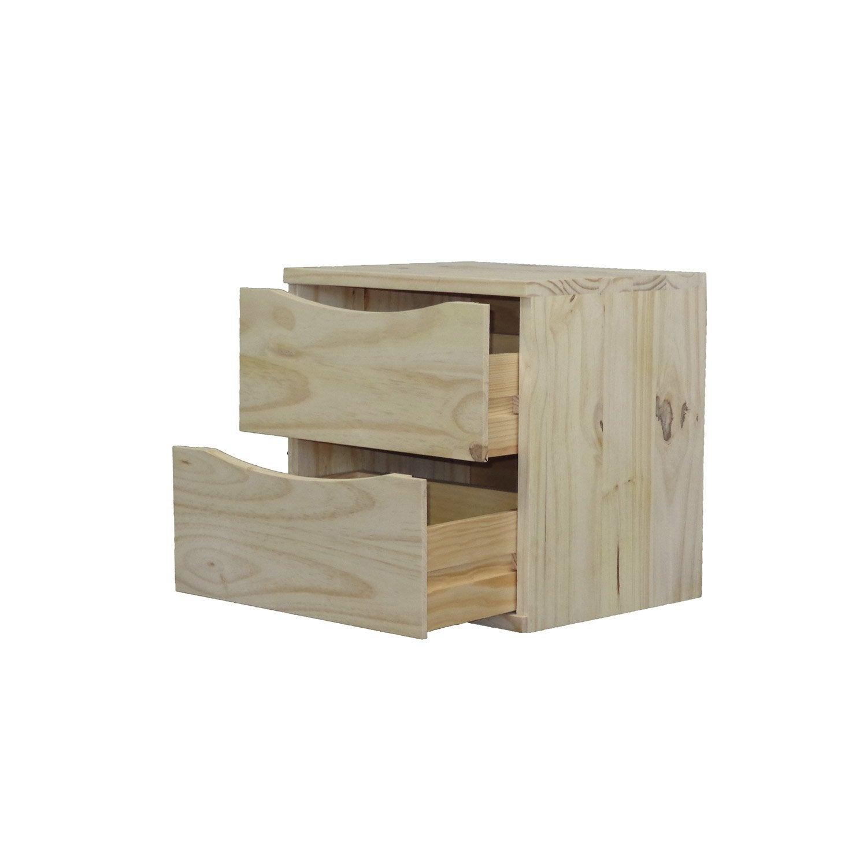 Etag re 1 case decokaz pin x x cm leroy merlin - Leroy merlin etageres metalliques ...