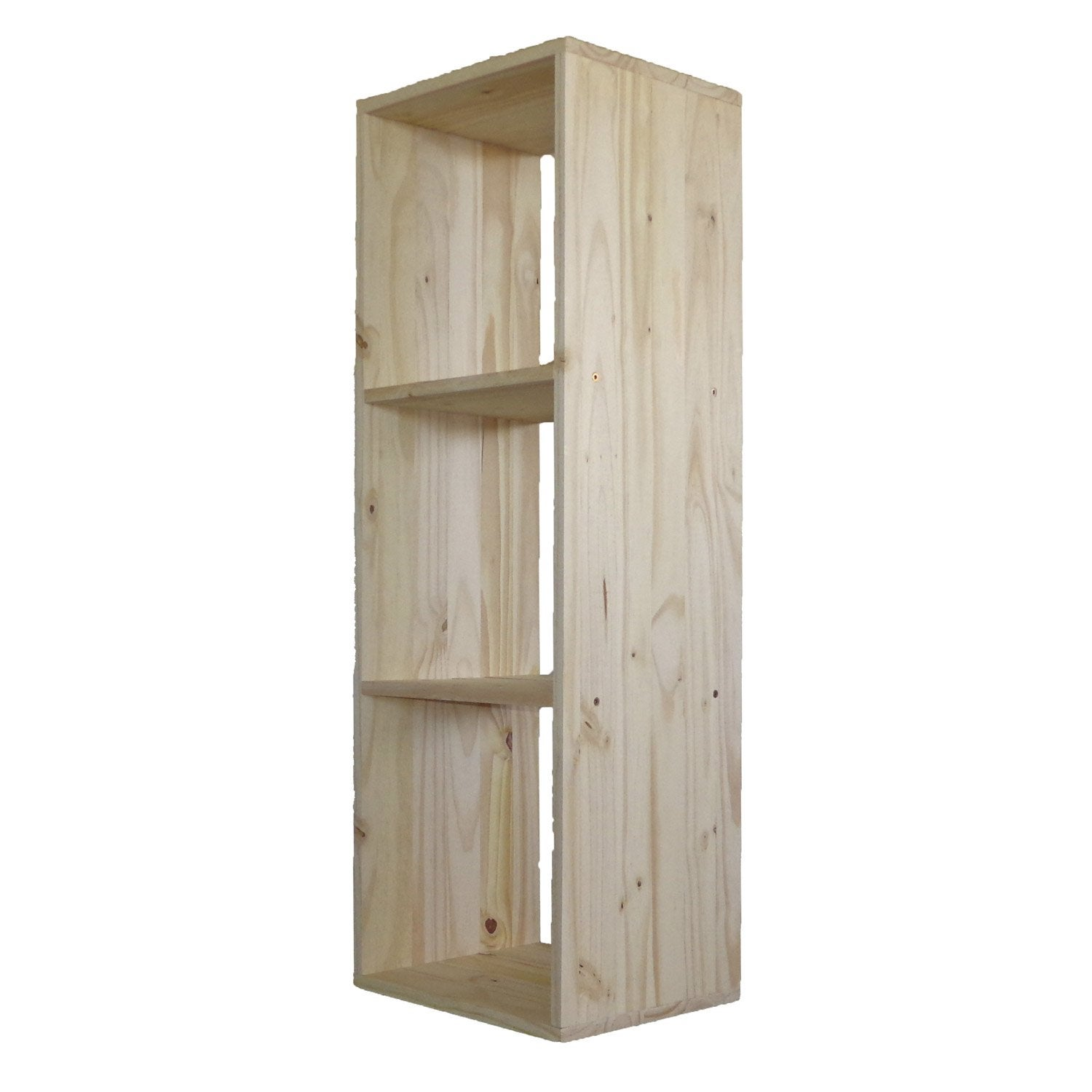 Etag re 3 cases multikaz pin x x cm leroy merlin - Etagere garage leroy merlin ...