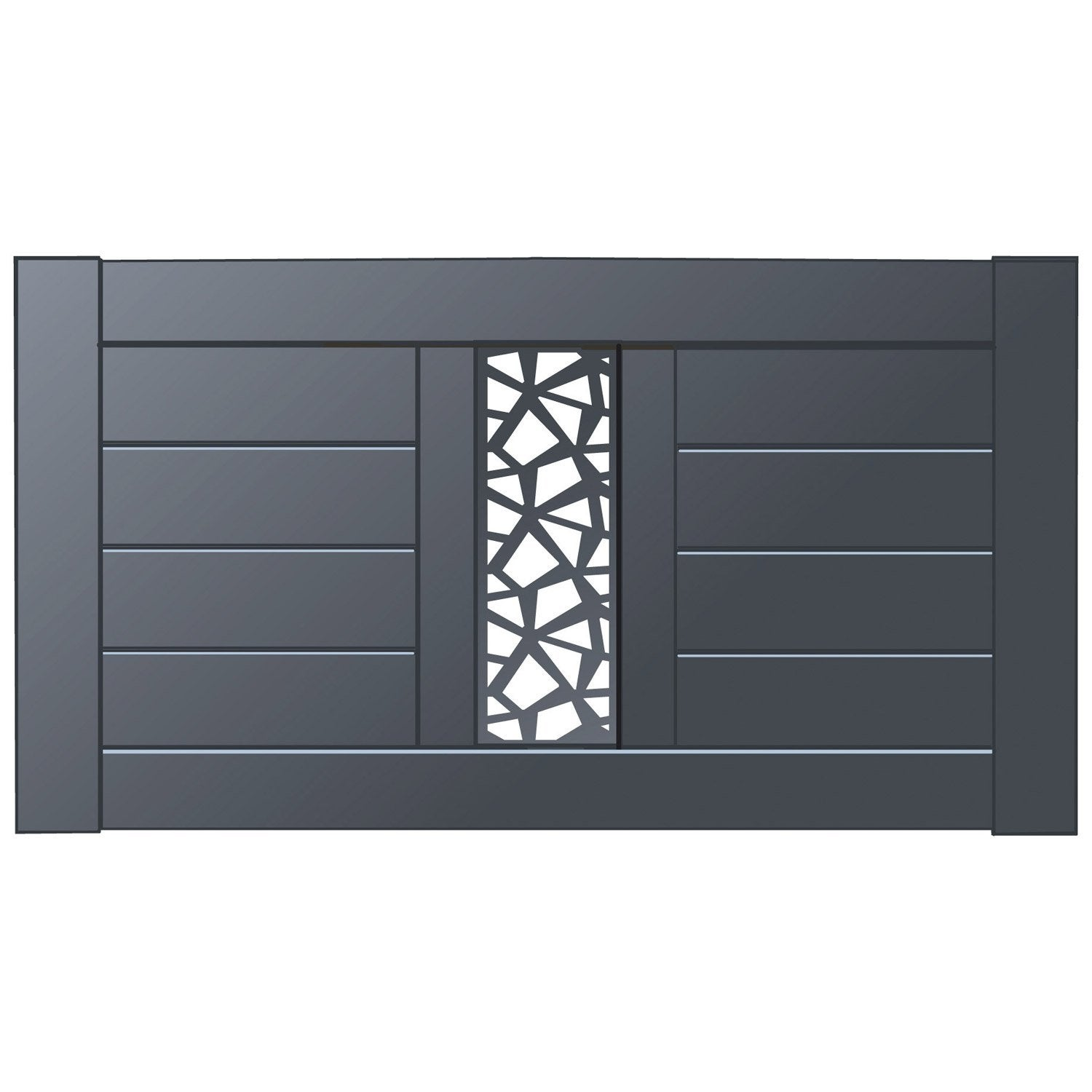 cl ture aluminium mixit naterial divers coloris. Black Bedroom Furniture Sets. Home Design Ideas