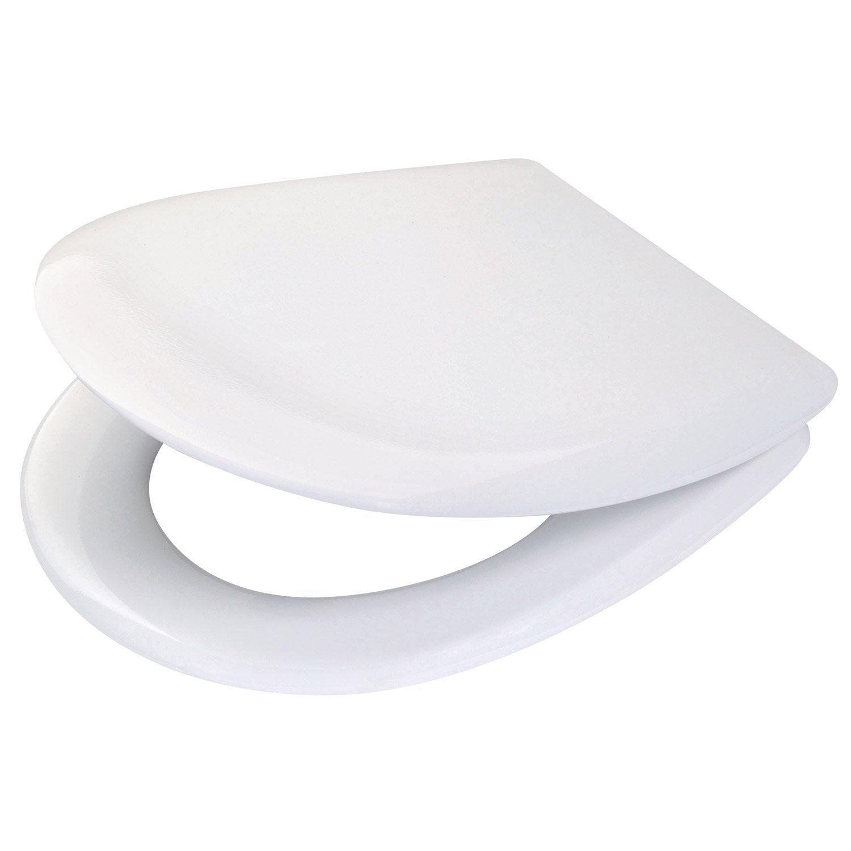 abattant wc ariane blanc leroy merlin. Black Bedroom Furniture Sets. Home Design Ideas