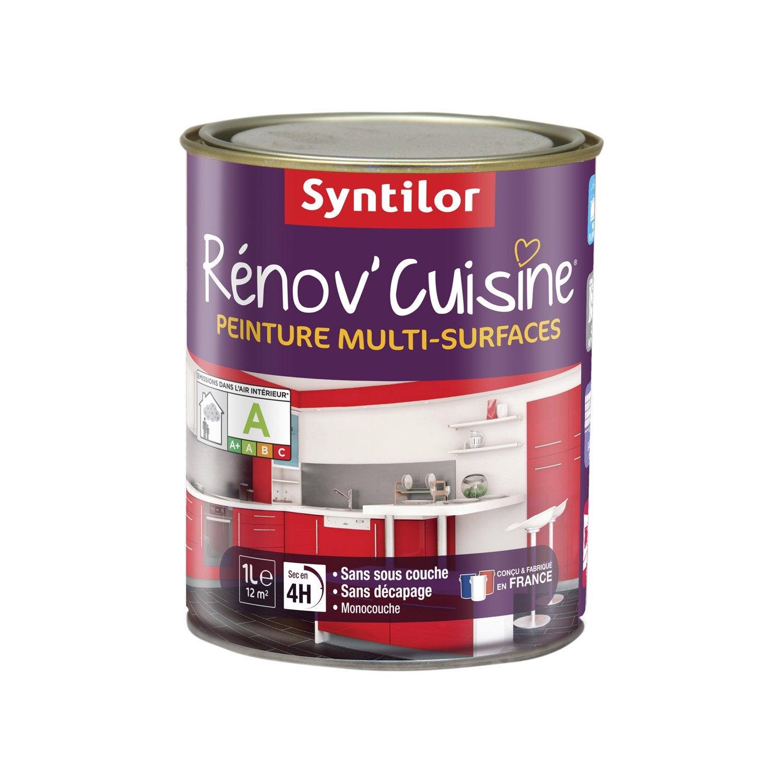 Peinture de renovation renov cuisine syntilor pom pomme 1 for Syntilor renov cuisine