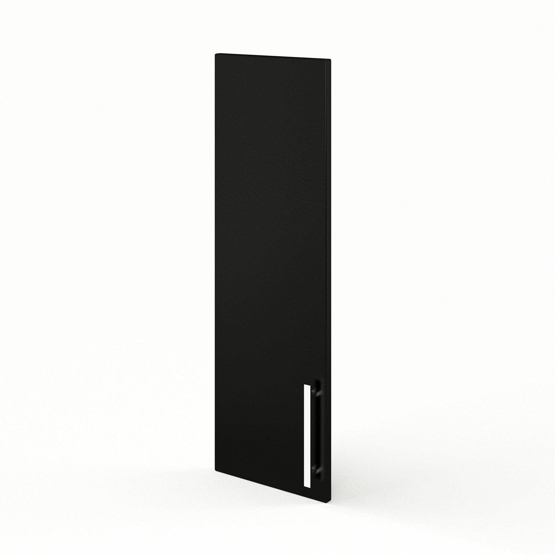 porte de cuisine noir d lice x cm leroy merlin. Black Bedroom Furniture Sets. Home Design Ideas