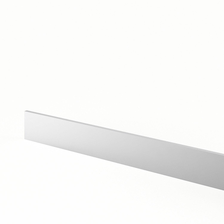 plinthe de cuisine blanc graphic l 270 x h 15 cm leroy merlin. Black Bedroom Furniture Sets. Home Design Ideas