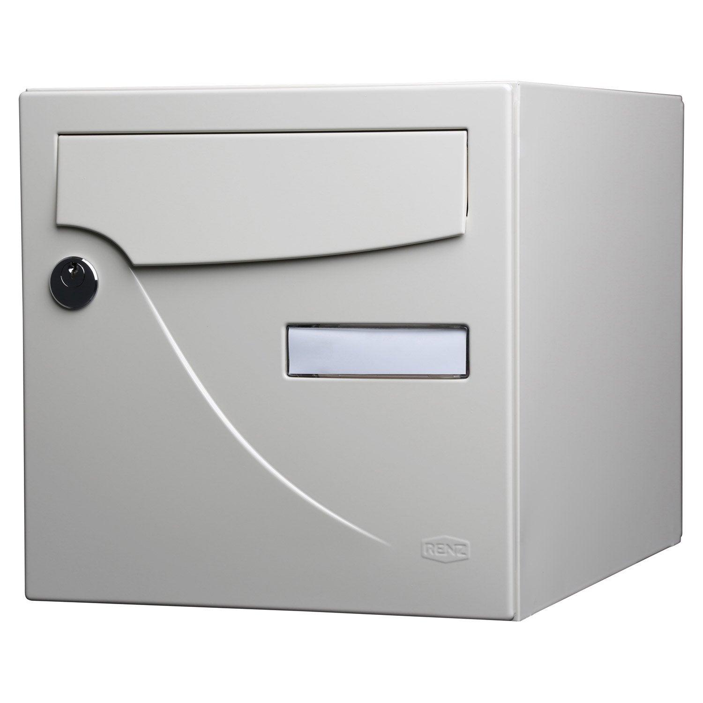 Boite de rangement leroy merlin maison design - Boite aux lettres 2 portes gris anthracite ...