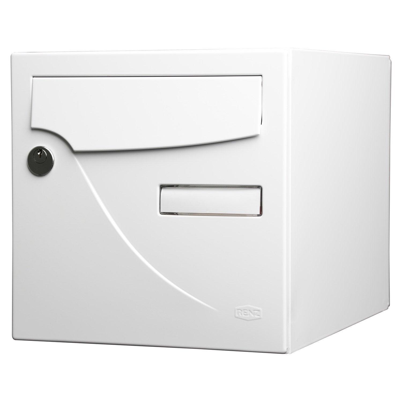 bo te aux lettres normalis e la poste 2 portes renz. Black Bedroom Furniture Sets. Home Design Ideas