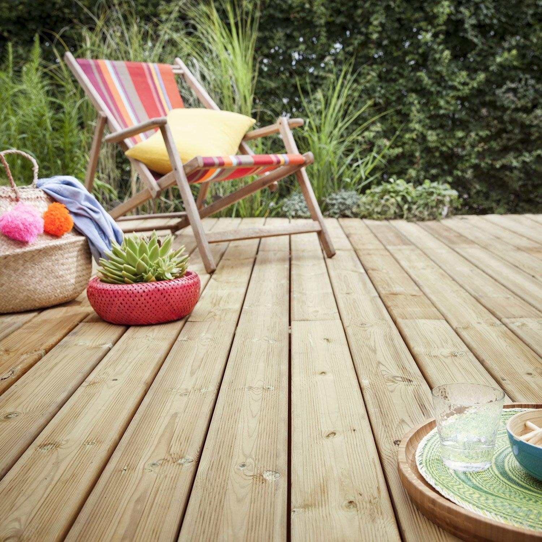 planche bois pin kuhmo verte x cm x mm leroy merlin. Black Bedroom Furniture Sets. Home Design Ideas
