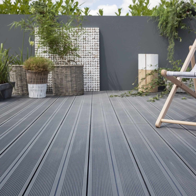 terrasse en bois composite leroy merlin Deco Maison Design