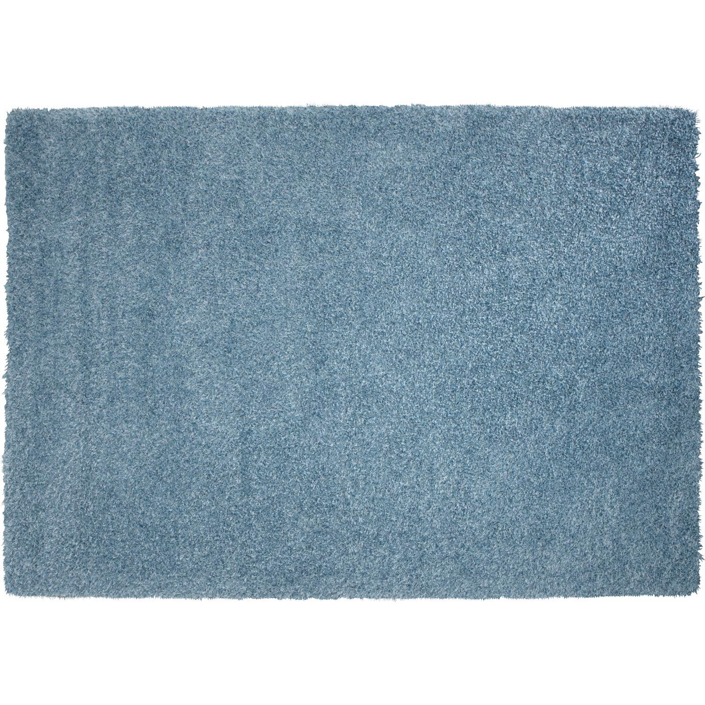Tapis shaggy pop bleu 230x160 cm leroy merlin - Leroy merlin tapis shaggy ...