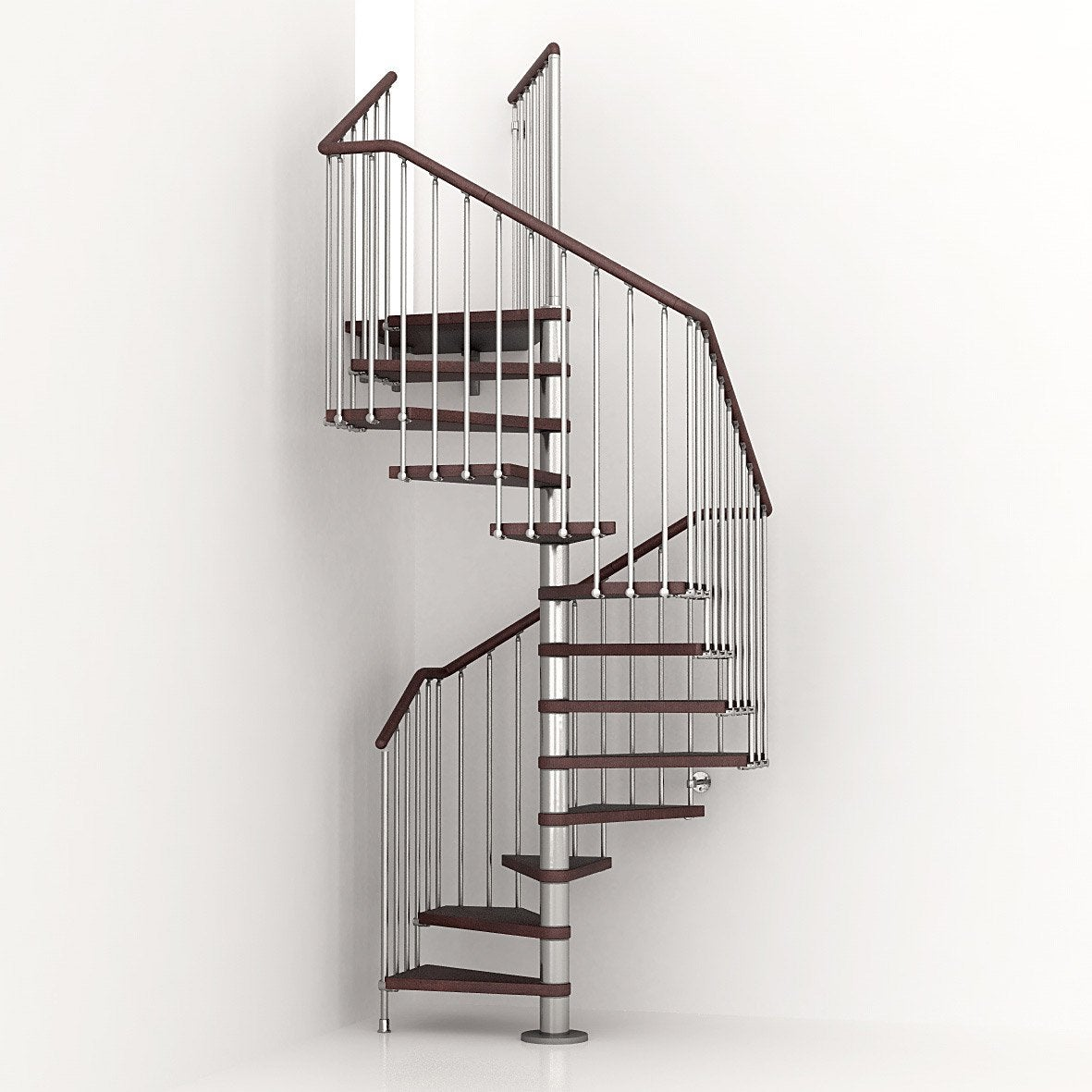 Escalier colima on carr cube structure m tal marche bois for Escalier interieur leroy merlin