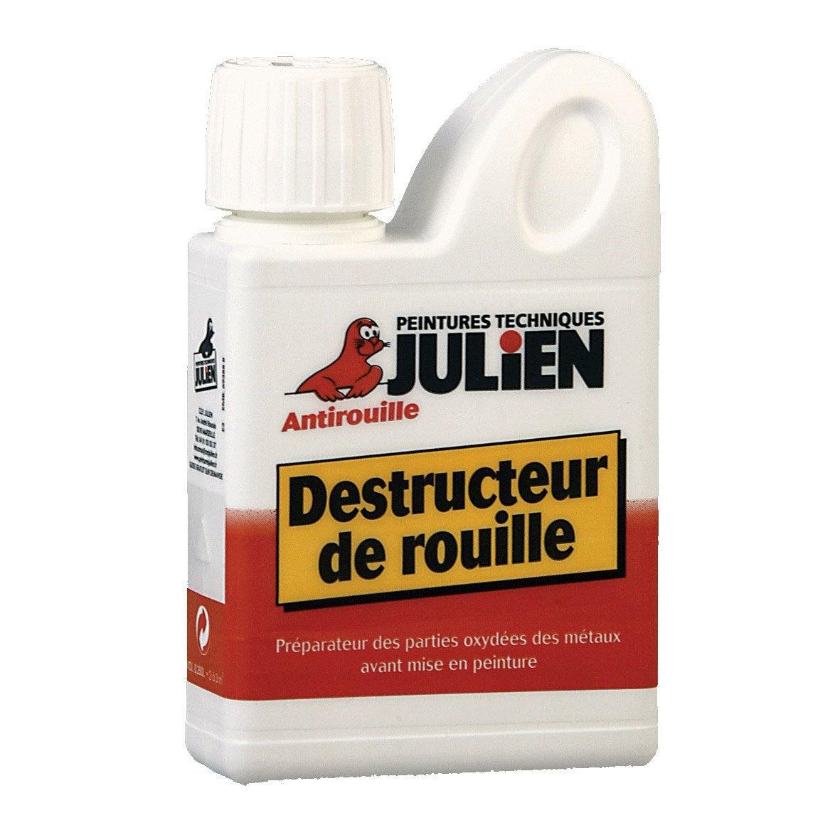 Destructeur de rouille ext rieur julien incolore l for Produit pour nettoyer la rouille