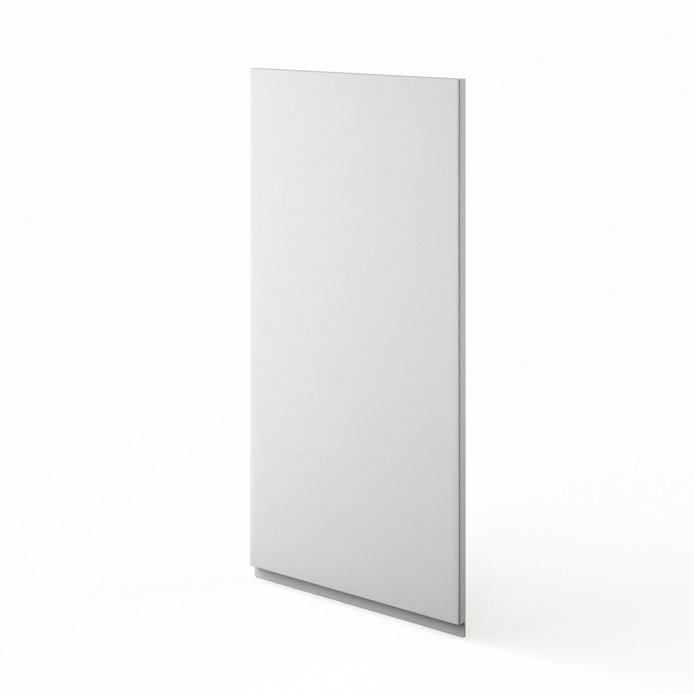 Porte de cuisine blanc graphic x cm leroy merlin for Carrelage 45 x 45