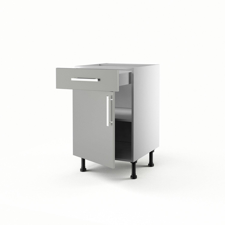 Meuble bas cuisine profondeur 50 cm best meuble cuisine for Meuble bas cuisine 50 cm largeur