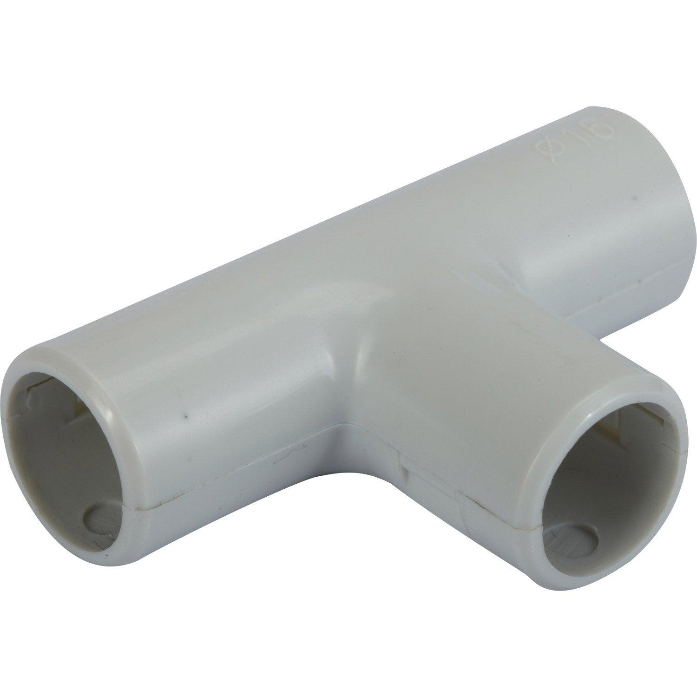T pour tube irl diam 16 mm electraline leroy merlin - Bassins om leroy merlin te zetten ...