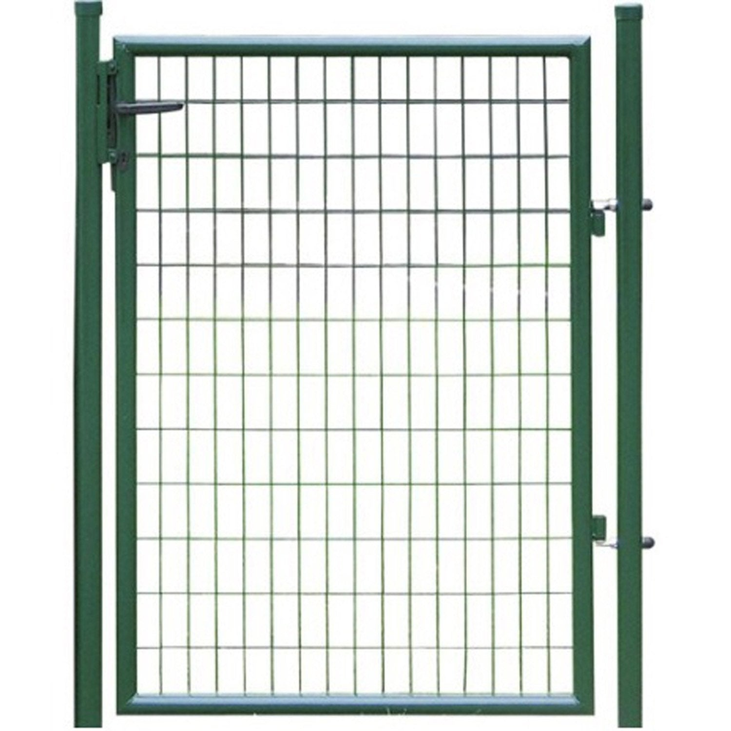 Portillon soud eco vert h 1 x maille 100x50mm for Largeur portillon