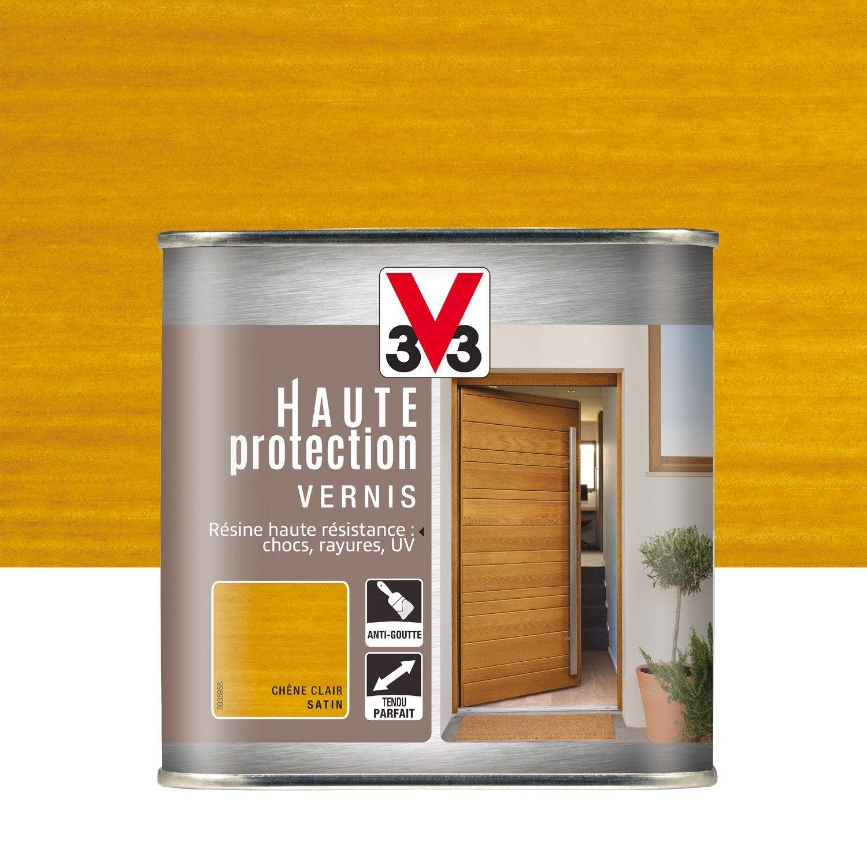 vernis v33 haute protection l ch ne clair leroy merlin. Black Bedroom Furniture Sets. Home Design Ideas