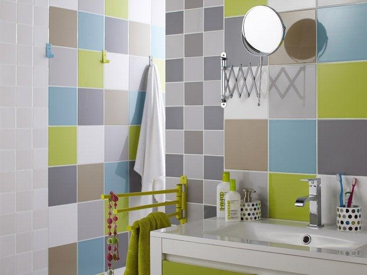 Idee couleur carrelage salle de bain - Idee couleur salle de bain ...