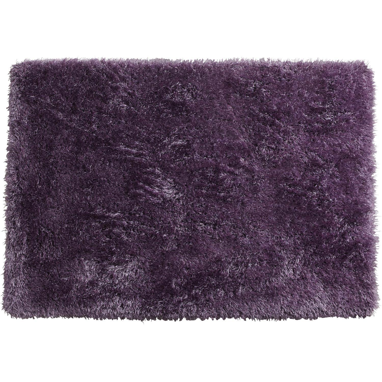Tapis Shaggy Love Violet 170x120 Cm Leroy Merlin