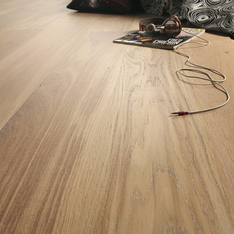 parquet contrecoll ch ne blanchi vitrifi xxl aero leroy merlin. Black Bedroom Furniture Sets. Home Design Ideas