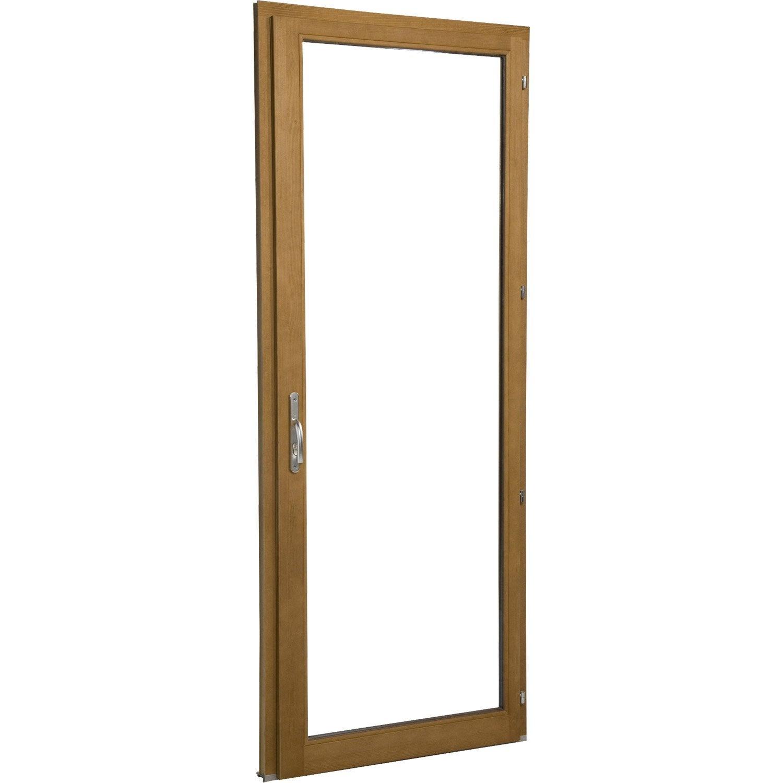 Porte fen tre bois 1 vantail ouvrant la fran aise for Porte fenetre bois