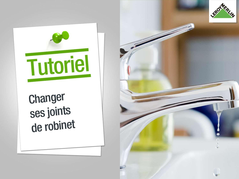 comment contrôler et changer des joints de robinet ? | leroy merlin - Changer Le Robinet D Une Baignoire