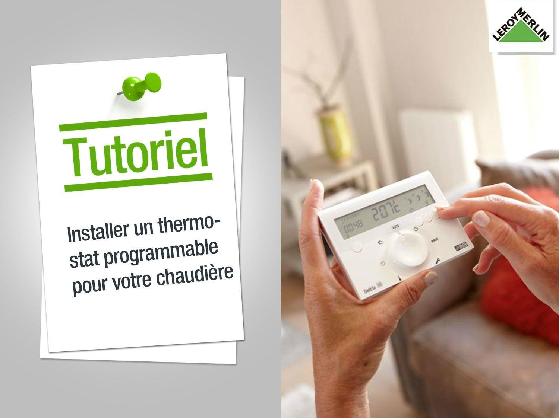 thermostat pour chaudiere. Black Bedroom Furniture Sets. Home Design Ideas