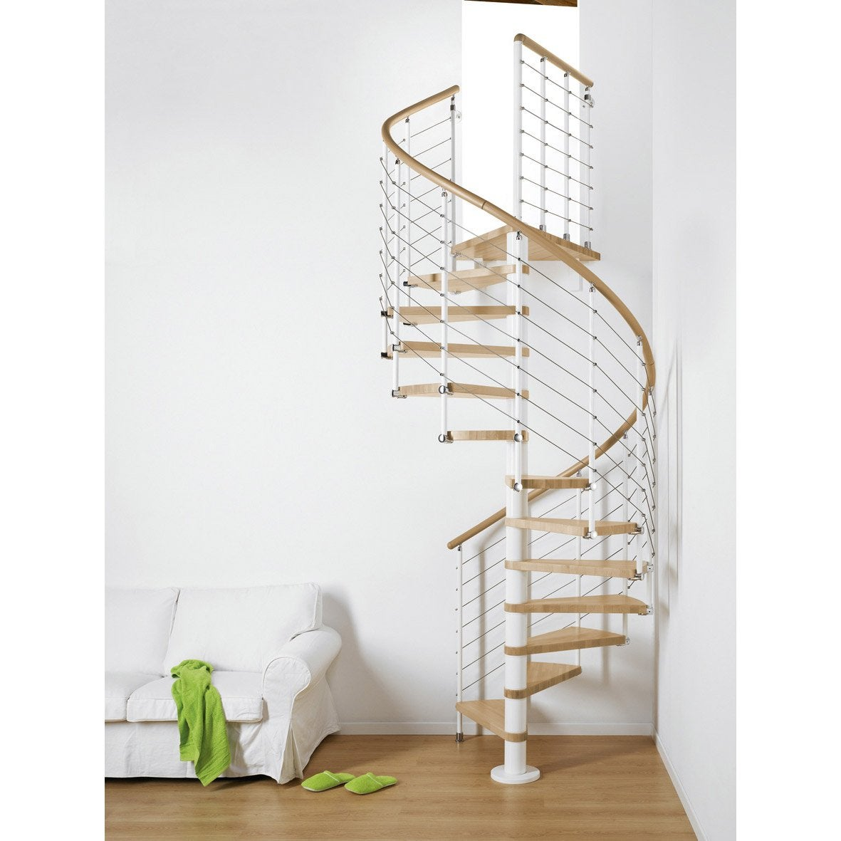 escalier colima 231 on rond ring structure m 233 tal marche bois leroy merlin