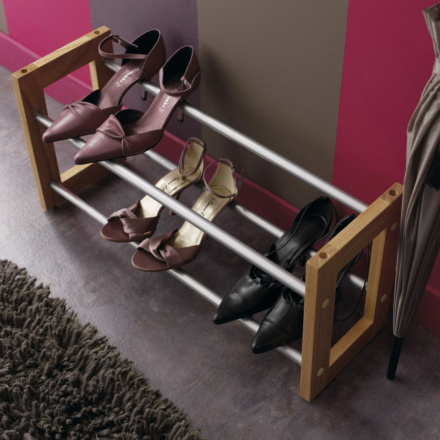 diaporama des astuces pour ranger vos chaussures. Black Bedroom Furniture Sets. Home Design Ideas