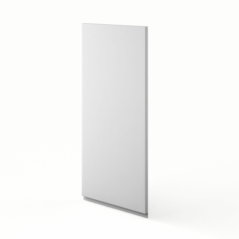 porte de cuisine blanc f40 92 graphic l40 x h92 cm. Black Bedroom Furniture Sets. Home Design Ideas