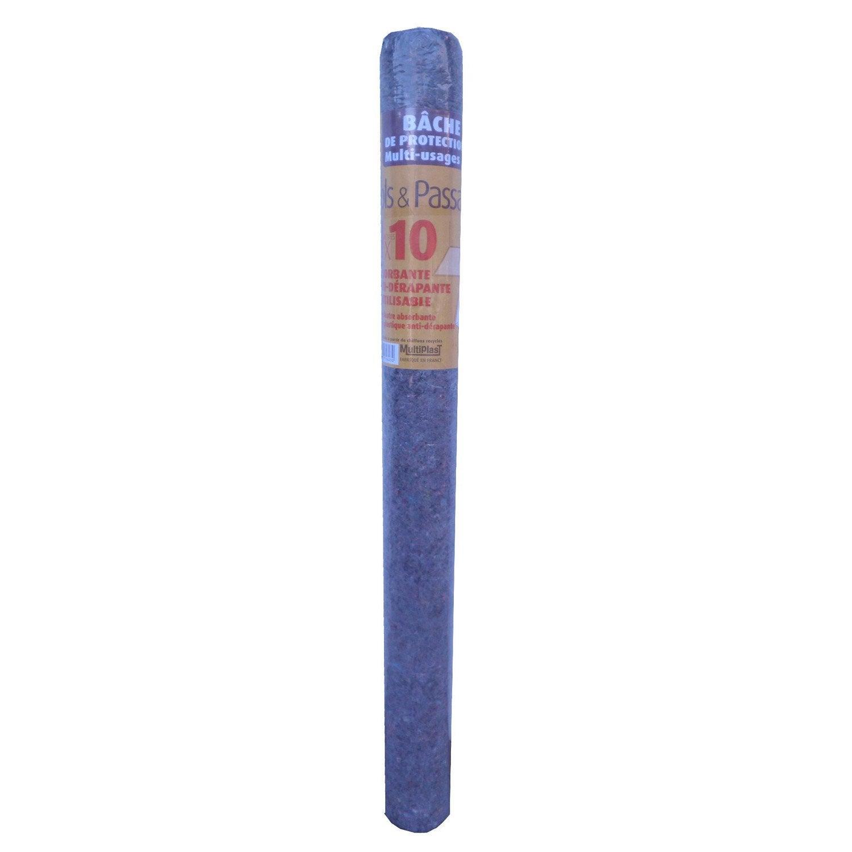 Rouleau de b che de protection l 1 x m m - Rouleau bache de protection ...